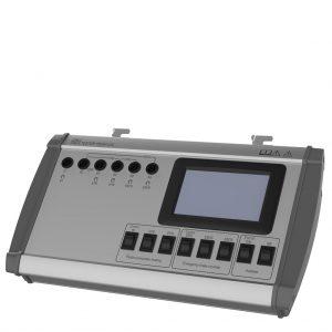 Tester brzdových funkcií pre prípojné vozidlá TBV01-UIC